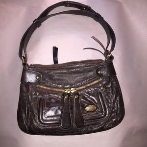authentic CHLOÉ distressed leather HOBO Bag $1800